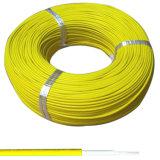 UL 3069 Haut de fil tressé en caoutchouc de silicone