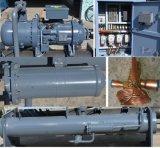 Refrigerador industrial del alto del agua refrigerador eficiente del tornillo