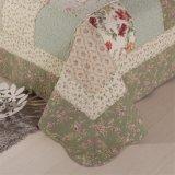 Moderne Baumwolldrucken-Plaid-Wäsche-Steppdecken 100%