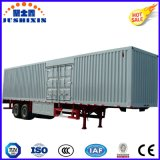 Aluminium Wing Van Trailer-40ton Capacity, portello di controllo elettrico