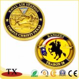 金カスタムメダル記念品の硬貨海軍騎兵隊メダル