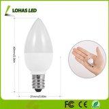 C7 E12 Non-Dimmable warme Nachtglühlampe des Weiß-2700K 1W LED für Weihnachtslichter