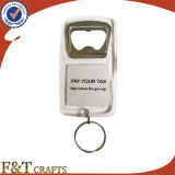Kundenspezifischer Bierflasche-Öffner-Schlüssel-Halter-fördernder Geschenk-Metallöffner Keychain