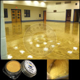 Metallischer Fußboden-Lack Coatingepoxy Pigment-Puder-China-Lieferant des Kleber-3D
