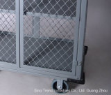ホテルの客室(SITTY 99.3335D)のためのドアが付いているアルミニウムDriddingのナプキンのカート