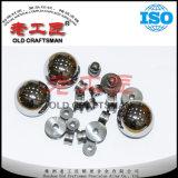 Bola del carburo de tungsteno de la fábrica en polaco y en blanco con el certificado de la ISO
