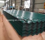 Toiture en métal ondulé prépeint gaufré avec Feutre anti-condensation