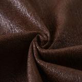 Sofá de lujo 2016 textil tejido de piel sintética