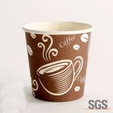 Copo de café quente descartável 8oz