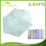 Madame promotionnelle Umbrella de pluie de Sun d'instrument de cadeau avec la pleine impression
