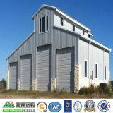 Lage Kosten/de Verschillende Geprefabriceerd huizen van het Staal/Garage voor Vrachtwagen/Vervoerder of Opslag