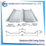 Joint-Hidden Panel del techo rollo formando equipo
