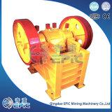 Máquina de la trituradora de quijada de la alta calidad PE250*1000 para la pulverización mineral