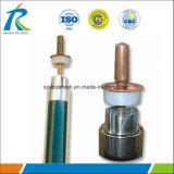 1.6Mm Solaire tube à vide avec échangeur de chaleur en cuivre et aluminium fin