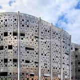 Rostfreier Stahl-Messingaluminium durchlöcherte geschnitzte Bildschirm-Panels für Raum-Teiler