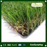 装飾の人工的な草を美化する35mmの高さ4カラー高品質