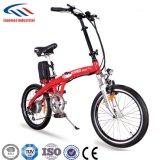 Дешевые складные E-велосипед