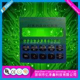 Custom adhesivo 3M Pulse el botón interruptor de membrana de instrumentos