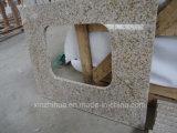 El granito oxidado de G682 Shangdong embaldosa la encimera amarillenta del granito de las losas