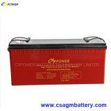 Batterij 12V180ah van het Gel van de Cyclus van China de Diepe Zonne met 3 Jaar van de Garantie
