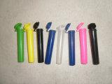 Frascos plásticos médicos resistentes de venda quentes com a câmara de ar pre rolada articulada de Doob do charuto da tampa