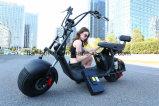 Harley Scooter eléctrico con 1000W, 60V/12Ah/20Ah/30Ah moto, scooter Kick