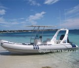CE del barco de la costilla de Hypalon del barco turístico de Liya los 20FT aprobado