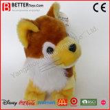 아기 아이를 위한 귀여운 박제 동물 연약한 견면 벨벳 Fox 장난감