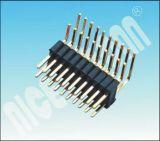 pH: 1.0mmの二重列Pinヘッダのコネクター直角Pin