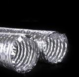 청각적인 격리된 알루미늄 유연한 덕트
