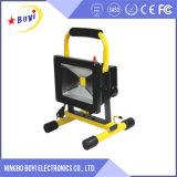Luz de inundación portable del LED, lista de precios de la luz de inundación del LED