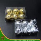 高品質のクリスマスによって分類されるプラスチックハングの球(HANS-86#-70)
