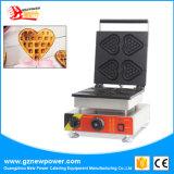 В форме сердечка принятия решений для приготовления вафель Maker коммерческих новая машина для приготовления вафель