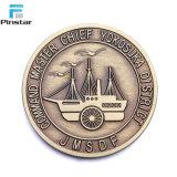 Barato al por mayor reto de monedas y monedas de metal personalizados