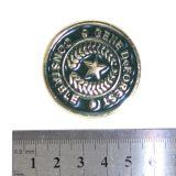 Comercio al por mayor la mejor forma redonda bola de metal verde Maker Hat Clip
