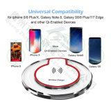 Chargement de batterie électronique iPhone8 Sumsang Qi chargeur sans fil