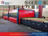 Cadena de producción de cristal endurecida plana de Southtech precio (PG)