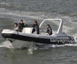 Crogiolo gonfiabile militare di yacht di Liya 24.5feet da vendere