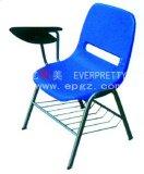 Подготовка стул со столом PP стул с планшетного ПК планшетный ПК подлокотника пластиковые складные стулья