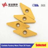 CNC de carburo de tungsteno Inserciones de carburo Vnmg, cuchillas de CNC