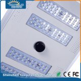 IP65 80W Jardín luz LED de la calle solar integrada