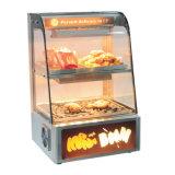 Le snack-bar de l'équipement alimentaire plus chaudes d'affichage