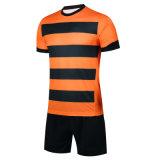 Dos homens com listra personalizados adequados de futebol Sport desgaste uniforme futebol respirável