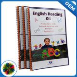 Acabado superficial de la laminación impresión de libros en inglés para la Educación
