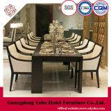 ダイニングテーブルおよび椅子(W-M-06)が付いているつましいレストランの家具