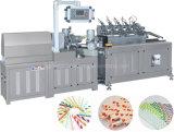 Consumo de papel automática do ponto de máquina de Palha