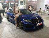 10 Honda Civic PP pára-choques dianteiro e traseiro parte Carro Bodykit Automático