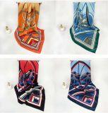 Una amplia variedad de colores y estilos disponibles; Ms cromática de 90mm cuadrado bufanda Fine-Denier personalizados de filamentos de imitar el tejido de seda