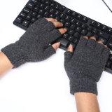Magische Handschoenen van de Winter helft-Finger/Fingerless van mensen de Acryl Gebreide (YKY5470)