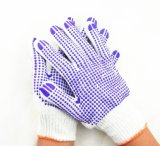 De pvc Gestippelde Handschoenen van de Arbeid van de Hand Beschermende in Guangzhou